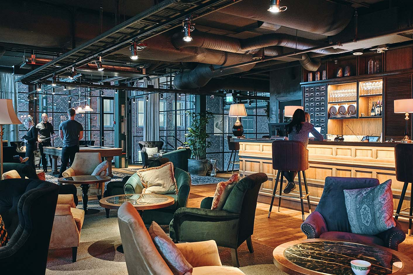 Boutiquehotell charmar med industriell romantik